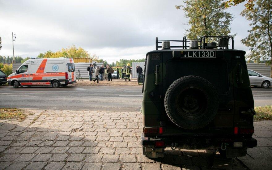 "В Вильнюсе обнаружена мина, объявлен план ""Щит"""