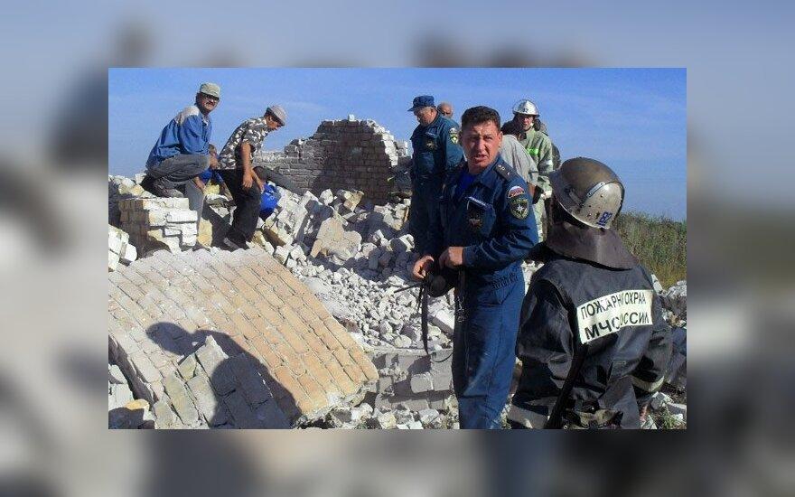 Под Ульяновском рухнула водонапорная башня: 4 погибших