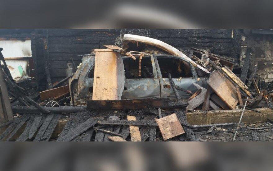 Pożar w Stankuciszkach