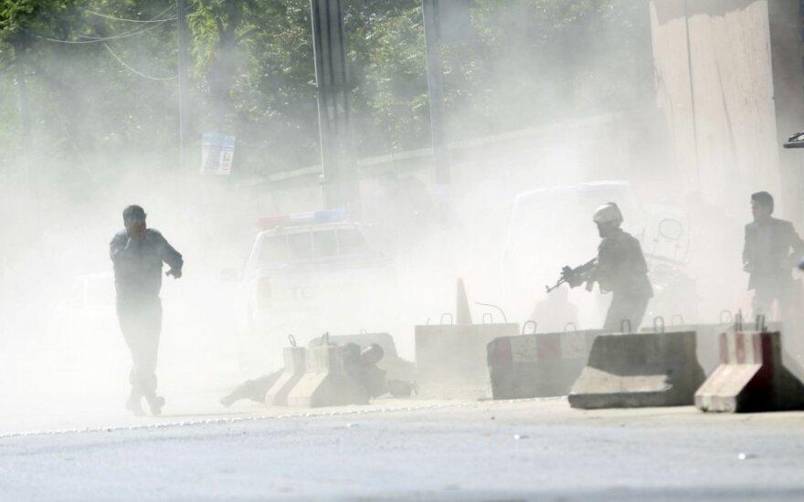 В Кабуле боевики атаковали президентский дворец в день праздника Курбан-байрам