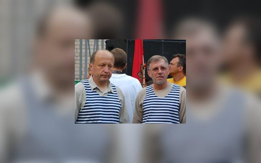 Andrius Kubilius ir Gediminas Kirkilas