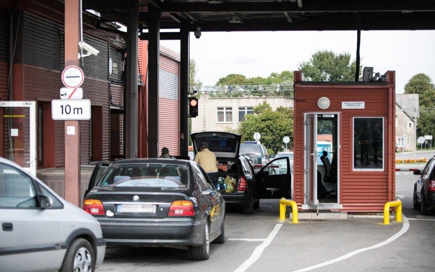 Литовские пункты пропуска 20 июля обновляют ПО. Возможны задержки с пересечением границы