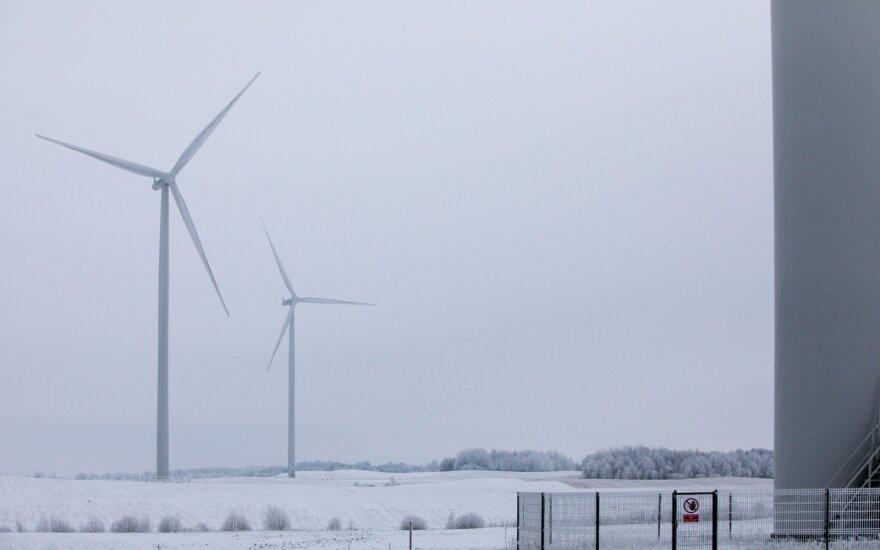 Ветер в декабре сбил цены на электроэнергию в Литве