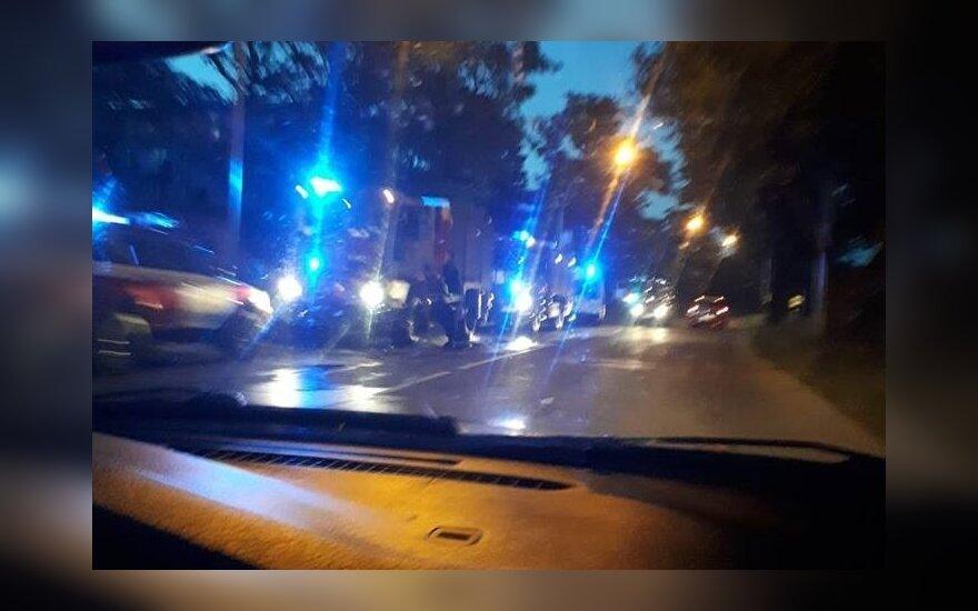 В Каунасе во время пожара погибла женщина