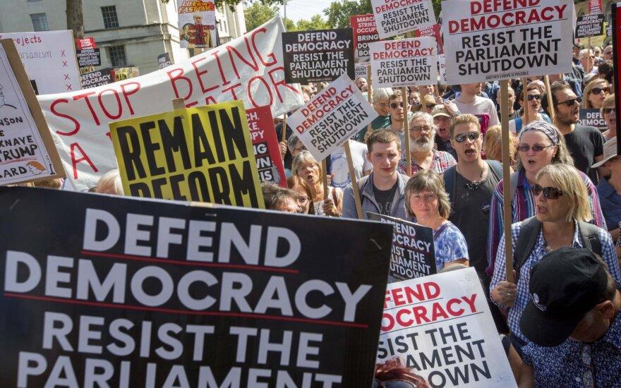 Protestas prieš BREXIT Jungtinėje Karalystėje
