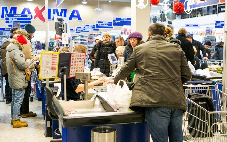 Maxima сообщает о повышении зарплат работникам