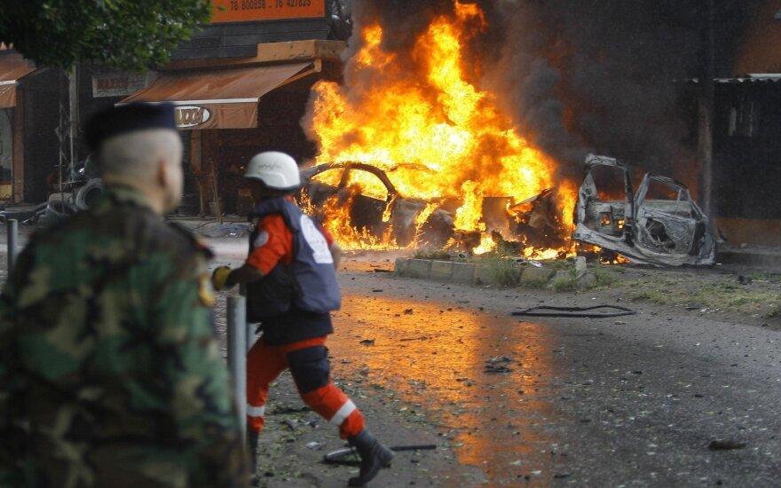 Шесть человек погибли при взрывах в Ливане