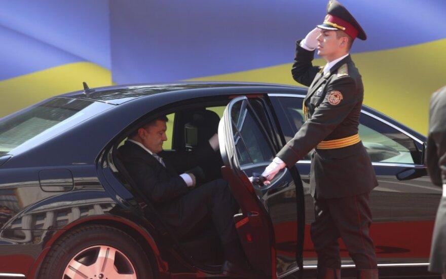 На Печерске в Киеве взорвалась машина с луганскими номерами
