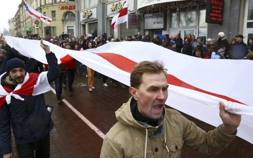Оппозиция Беларуси отмечает День Воли