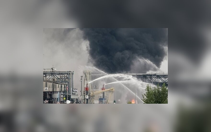 Как минимум один человек погиб при взрыве на химическом заводе BASF в Германии