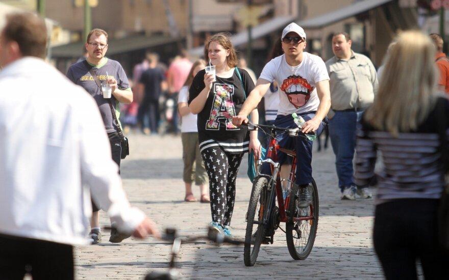 В Литву идет по-летнему теплая погода