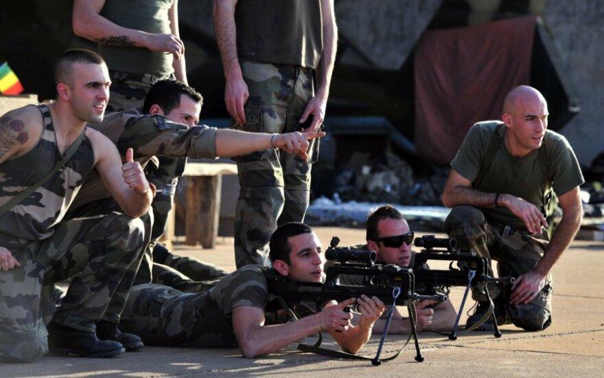 Prancūzų kariai Malyje