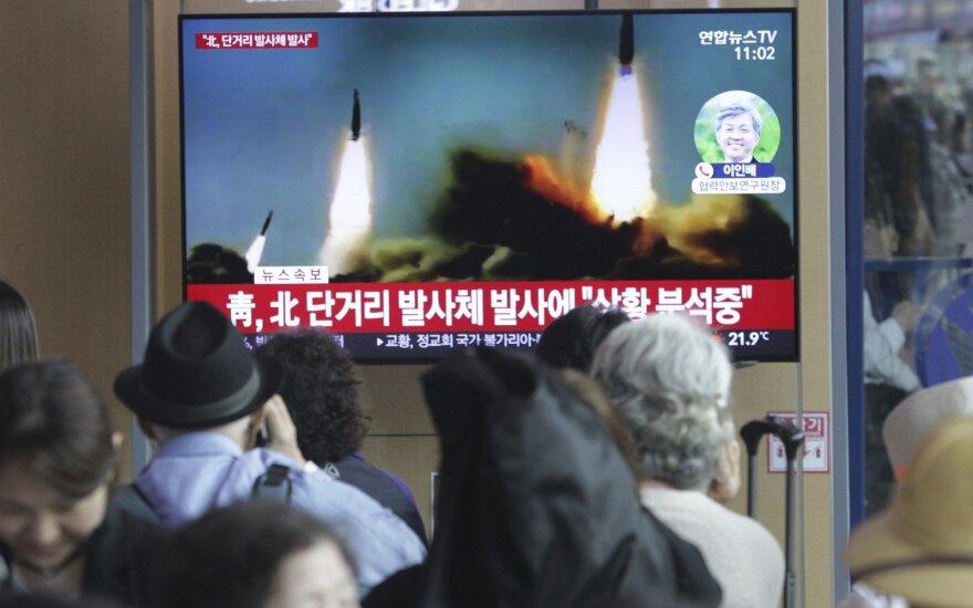 КНДР запустила две ракеты малой дальности