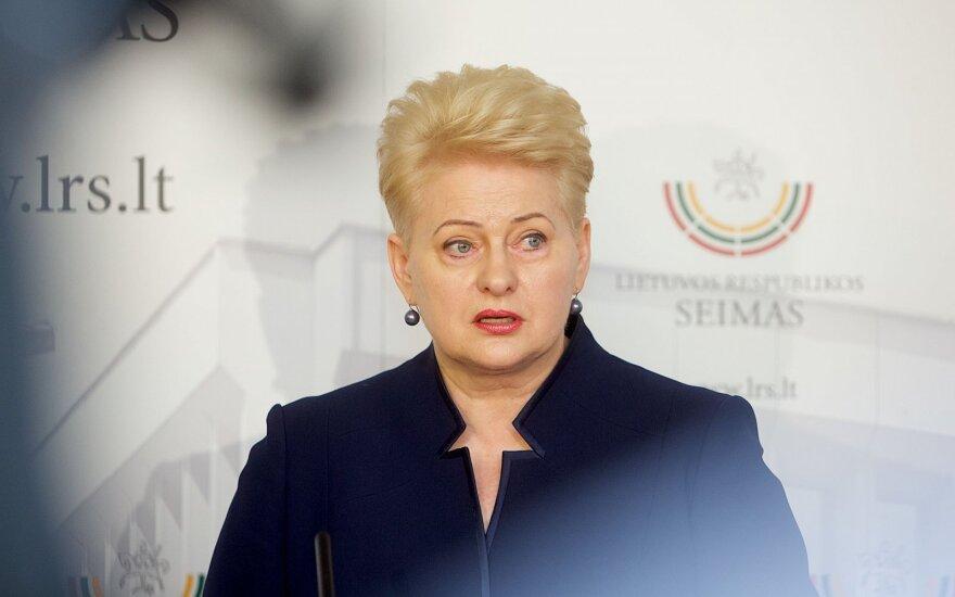 Президент: швейцарская армия призывников прекрасный пример для Литвы