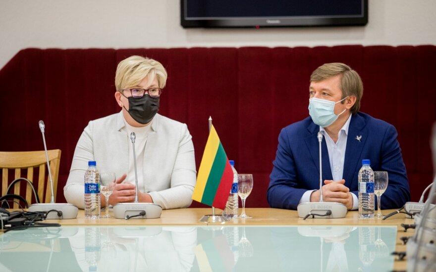 Ingrida Šimonytė, Ramūnas Karbauskis