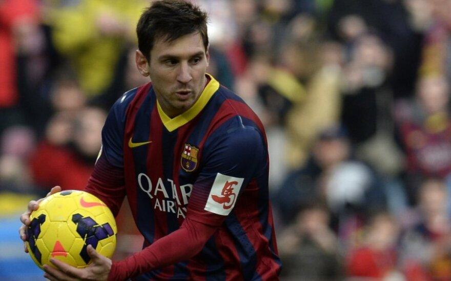 Lionelis Messi savo komandos nuo pralaimėjimo neišgelbėjo