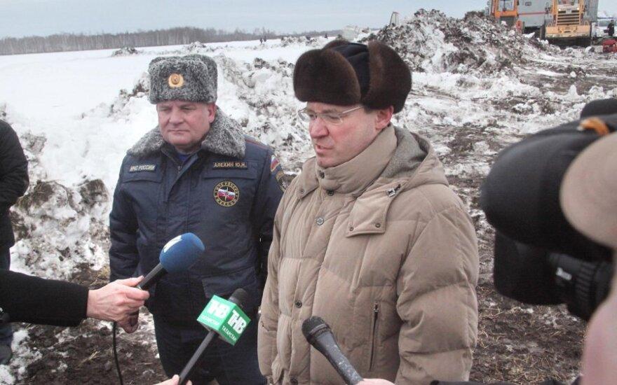 Tiumenės regiono gubernatorius Vladimiras Jakuševas