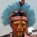 Pataxo genties atstovas (Brazilija)