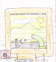 Internetas vaikų akimis. Deividas Taparauskas. 10 m.