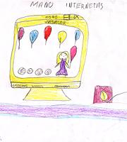 Internetas vaikų akimis. Erika Ramanauskaitė. 10 m.