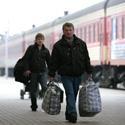 Keleiviai stotyje