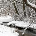 Upelis žiemą