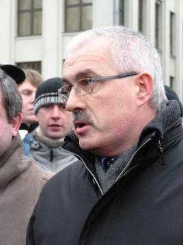 Глава МВД Беларуси Владимир Наумов