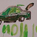 Piešinys, automobilis, mašina