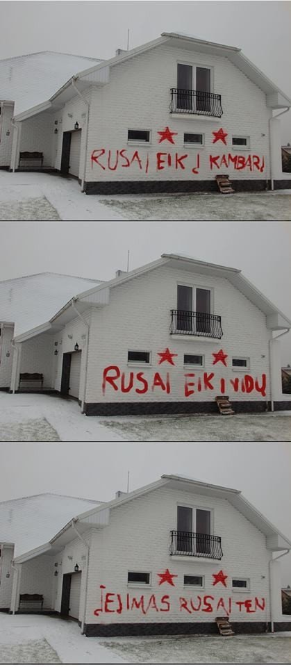 Rusai, eik namo, lauke vėsu, sušalsi