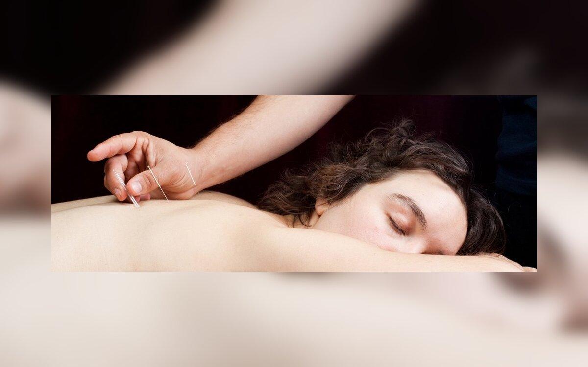 erekcijos akupunktūros taškai)