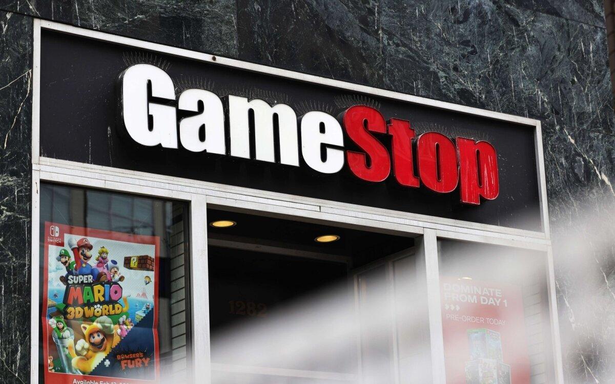 gamestop sistemos prekyba