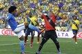 """Kadaise badavęs buvęs FBK """"Kauno"""" vartininkas dabar žaidžia """"Copa America"""" turnyre"""