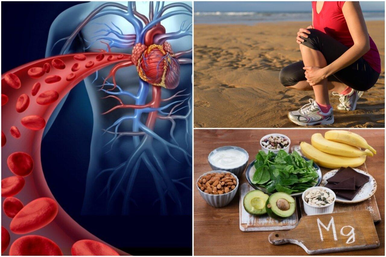 Kalio ir magnio trūkumo organizme vien daržovėmis ir vaisiais nekompensuosi