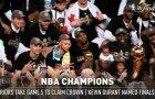 Penktųjų NBA finalo rungtynių skaičių magija - vaizdo klipe