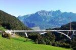 Tiltas virš Taminos tarpeklio (CC Schofför nuotr.)