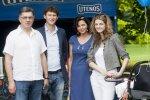 Algirdas Butkevičius su šeima
