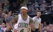 """Gražiausių """"Celtics"""" sezono epizodų dešimtuke - varžovą tik akimis palydėjęs J. Valančiūnas"""
