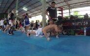 """""""Road to Glory"""" Tailande: Muay Thai klubas """"Tiger"""" ir didžiausias Azijos vandenlenčių parkas iš arti"""