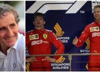 """Naujasis """"Ferrari"""" bolidas bus pritaikytas Vetteliui, bet F-1 legenda lyderiu mato Leclercą"""