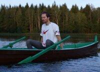 Gabrielius Vagelis pristato naują dainą ir vaizdo klipą: kelias valandas išgulėti šaltame vandenyje nėra taip paprasta