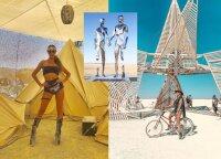"""""""Burning Man"""" šėlo seksualieji """"Victoria's Secret"""" modeliai ir milijardieriai: pamiršta kilni festivalio idėja?"""