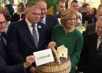 """""""Žaliojoje savaitėje"""" pagrindinis lietuviškas akcentas – gigantiškas šakotis"""
