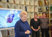 """""""Biplan"""" pristatė naują vaizdo klipą: premjera - drauge su Dalia Grybauskaite"""