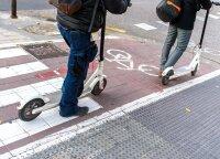 Elektriniai paspirtukai išrieda į gatves: kada jų vairuotojai yra pavojus ir sau, ir aplinkiniams?
