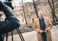 Užkalnis: valgiau Vilniuje, kaip raudonsprandžių Amerikoje