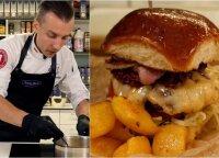 Verta išbandyti ir namuose: štai kaip ruošiamas firminis šefo <em>burgeris</em>