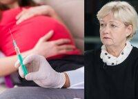 Perspėja nėščiąsias ir žindyves: kokių skiepų negalima, o kuriais skiepytis reikia bent mėnesį prieš nėštumą