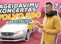 """Švedų ikona """"Volvo"""": ar S80 prilygsta konkurentams iš Vokietijos?"""