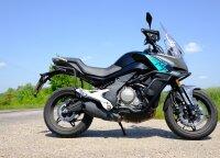 """""""CF Moto 650MT"""" testas: naujas motociklas už naudoto kainą"""