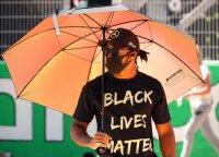 Hamiltonas apie septintąjį čempiono titulą: laimėti padėjo kova prieš rasizmą